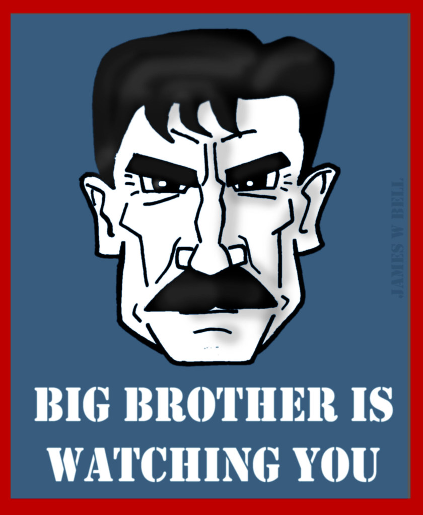 Big Brother Is Watching You 1984 Part 1 Chapter