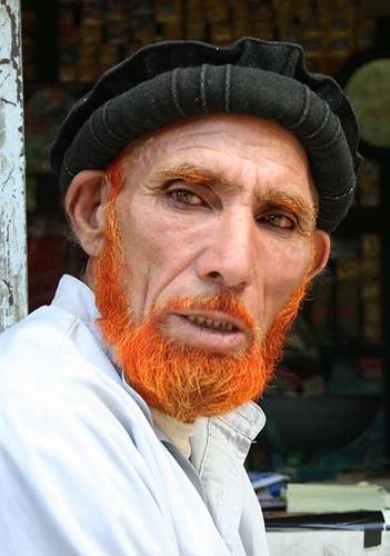 Old Orange Old Man From Kailash He Had All His Hair Color Flickr