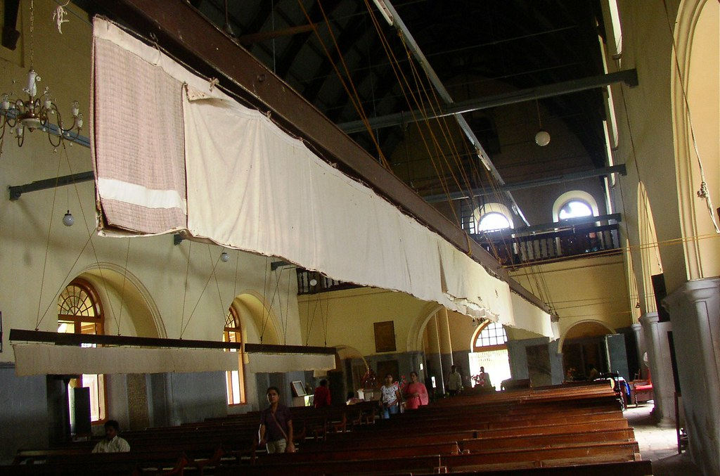Punkah Used In Ernakulam Church By Isaac Manohar M Mano