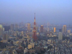 Tokyo Tower from Roppongi Hills | by Tokyo Metblog