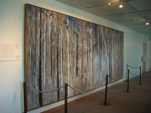 Arthur Boyd Painting The Great Hall Tapestry's Based On | by Pat Scullion