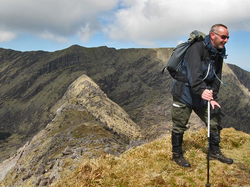 Brandon: Colin at Benagh Summit | by Brendan's Mountain Photos