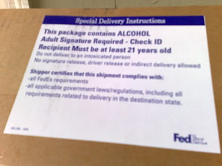 This package contains ALCOHOL | by stevegarfield