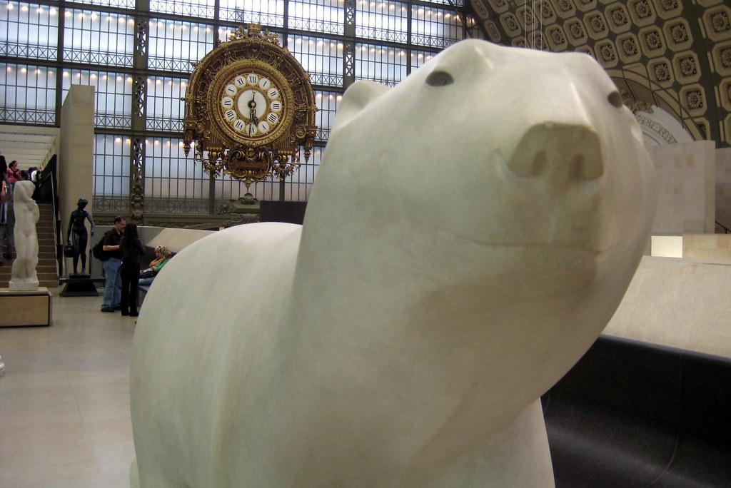 Très Paris - Musée d'Orsay: François Pompon's L'Ours blanc | Flickr KX49