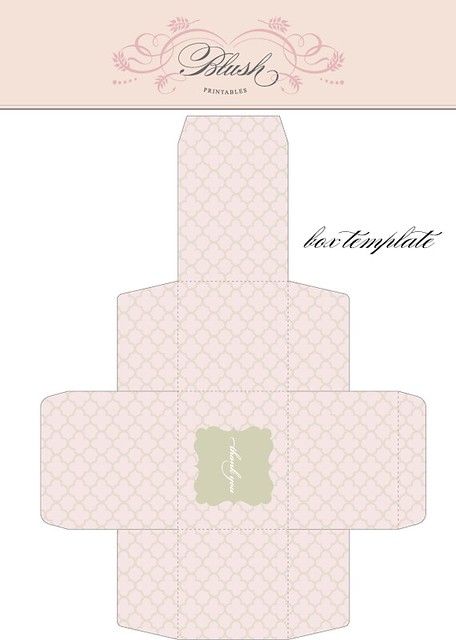 Square box template create your own designer look right fr flickr square box template by blush printables pronofoot35fo Gallery