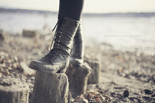 These boots are made for walkin' | by P!XELTREE