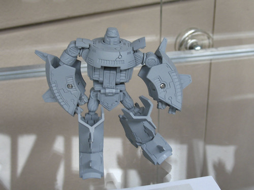 "Botcon '07 - Day 2 - Hasbro Tour - 6"" Titanium Cosmos that will never be made. 