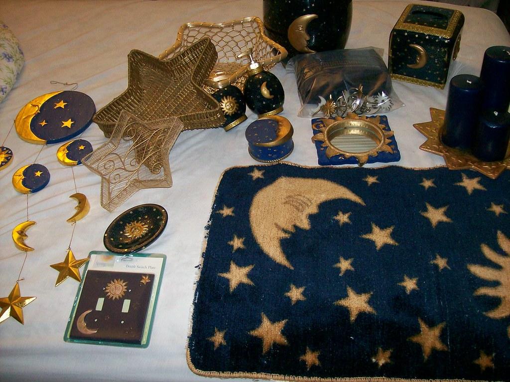 Sun Moon Stars Bathroom Set 100 00 By My Moving Sale Sun Moon Stars Bathroom