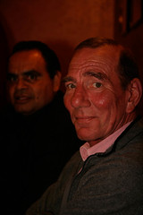 AFL legend Michael Long and star of Liyarn Ngarn Pete Postlethwaite | by antar_sea_of_hands