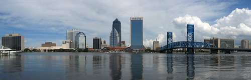 Jacksonville Skyline Panorama | by Digon3