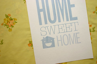 home sweet home light blue | by sparklecandace