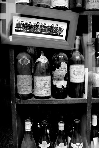 Wine Merchant's window in Paris | by booksin