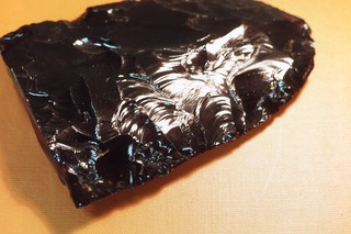 Obsidian artifact from the Riley (Oregon, USA) site | by gbaku