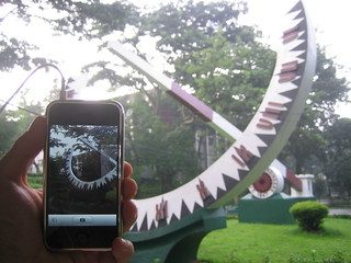 iPhone in UP Diliman | by rom