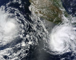 Tropical Storms Blas and Celia | by NASA Goddard Photo and Video