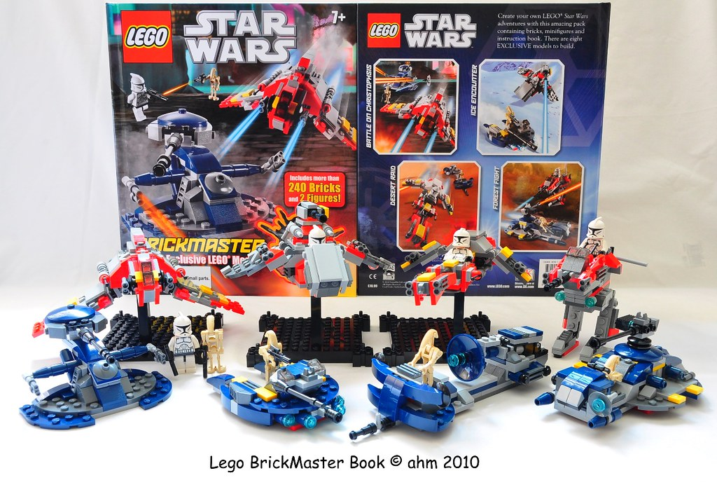 Star Wars Lego Brickmaster Book Star Wars Lego Brickmaster Flickr