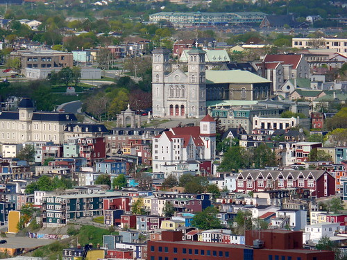 how to get from st johns newfoundland to ste pierre