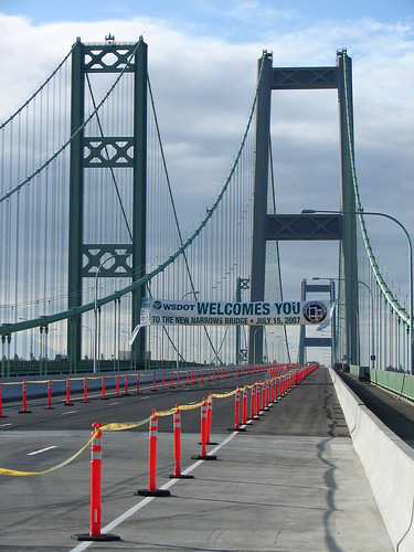 Tacoma Narrows Bridge Opening | by WSDOT