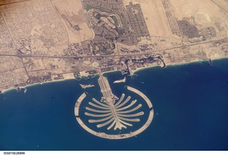 Dubai City and The Palm Jumeirah | by Bernt Rostad