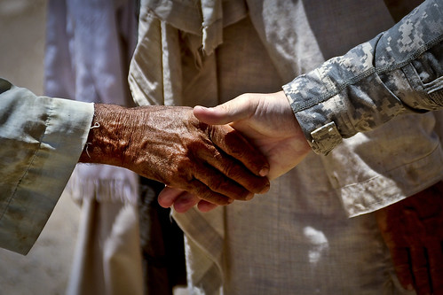 Bawka handshake | by The U.S. Army