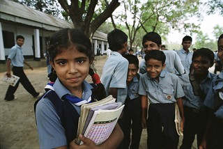 Children outside school. Bangladesh | by World Bank Photo Collection