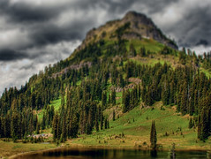 Yakima Peak - HDR and Fake Tilt Shift | by KellBailey