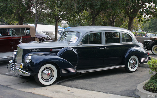 1941 Packard 180 LeBaron Limousine - Silver French Gray Metallic Duco & Barola Blue Metallic Duco - fvl | by Rex Gray