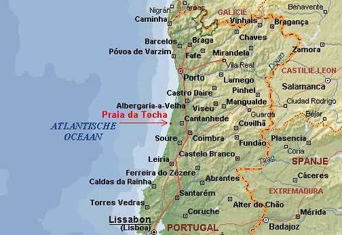 mapa das praias do norte de portugal praia_da_tocha_map | Mapa do centro e norte de portugal e um… | Flickr mapa das praias do norte de portugal