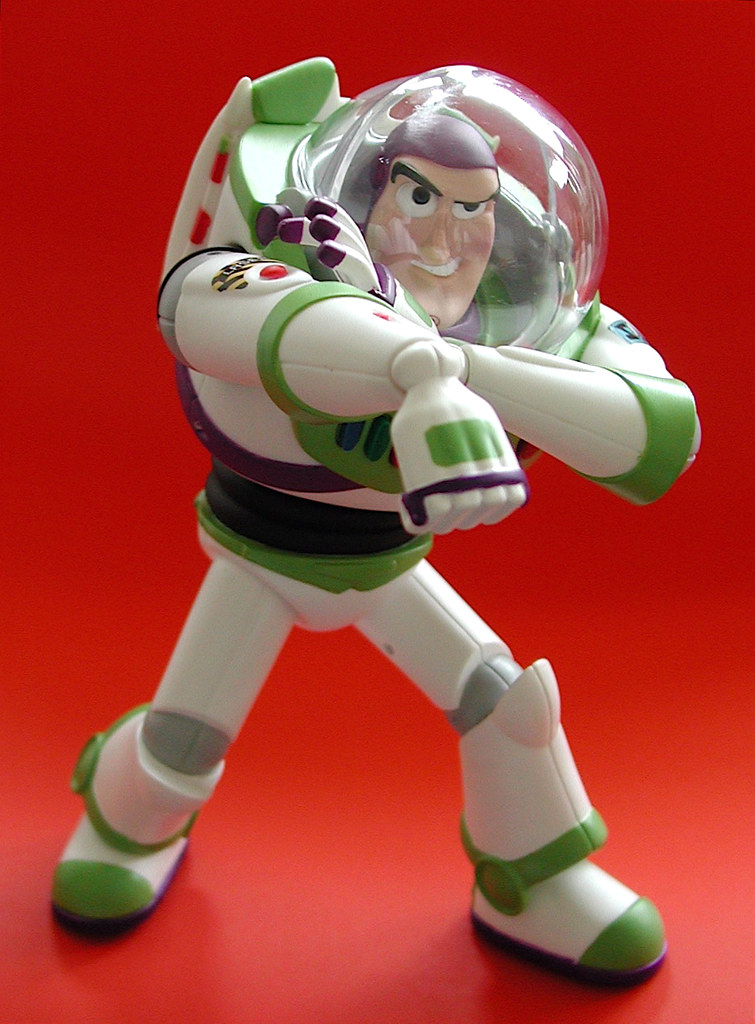 ... Medicom Vinyl Collectible Dolls: Buzz Lightyear | By J_pidgeon