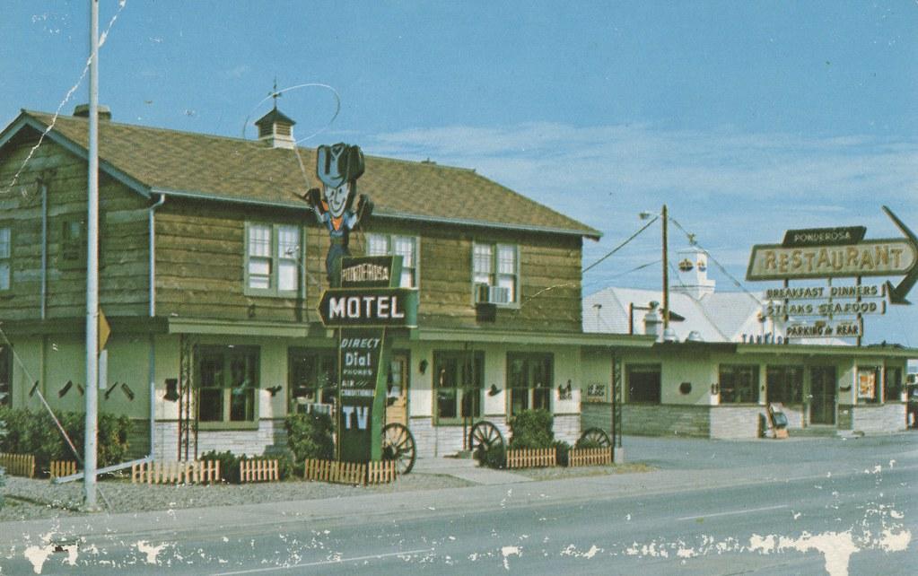 Ponderosa Motel - Wausau, Wisconsin
