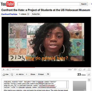 confront the hate on Youtube | by Global Kids/Online Leadership Program (OLP)