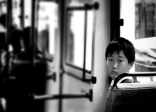 Boy in bus | by Ansanshi
