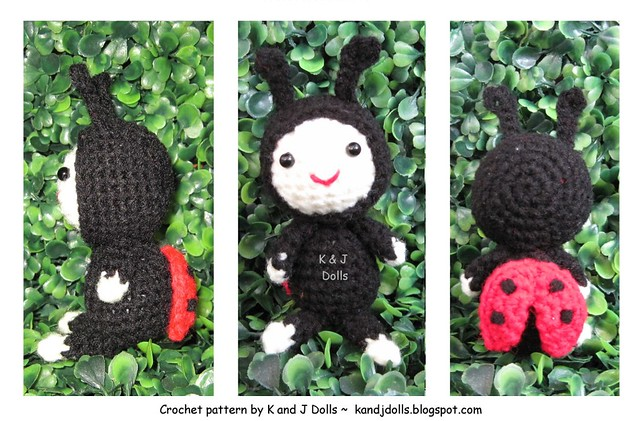 Ladybug Amigurumi Crochet Pattern For Patterns Visit Kandj Flickr