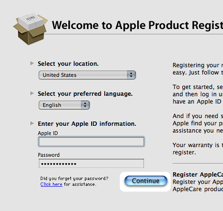 Apple Product Registration | What's with the Jaguar-era subm… | Flickr