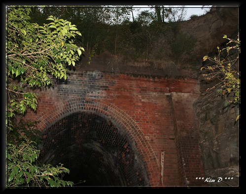 Richmond Vale Railway Tunnel 1  One Of A Couple Of Old