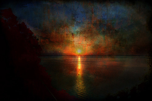 Italian sunset, thinking of J. M. W. Turner | by eftimov-schenk-schwartz