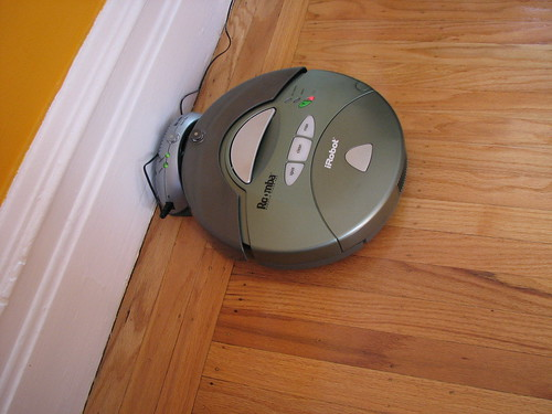 Roomba in Home Base | by Stephanie Booth