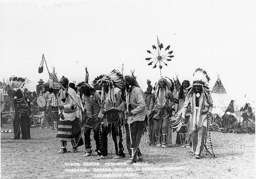 Members of the Blood tribe participate in a pow-wow | by Galt Museum & Archives on The Commons
