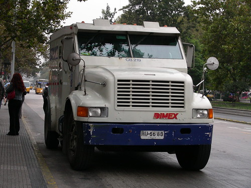 Dimex Armored Truck