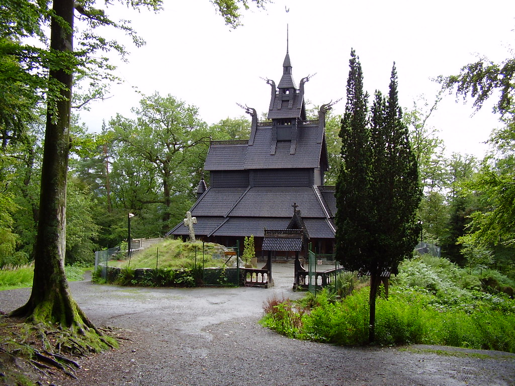 Fantoft Stave church  Norway