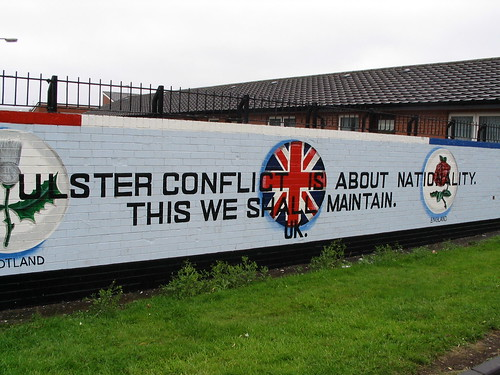 """Unionist Mural  """"the Ulster Conflict Is About Nationality. Holographic Foil Stickers. Distance Murals. Beer Mug Logo. Phone Logo. Bestdepression Signs Of Stroke. Abstract Modern Murals. Kana Murals. Determination Signs"""