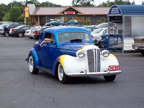 a 1937 dodge coupe spotted outside wal mart in the. Black Bedroom Furniture Sets. Home Design Ideas