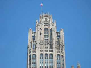 Tribune Tower flyng buttresses | by adactio
