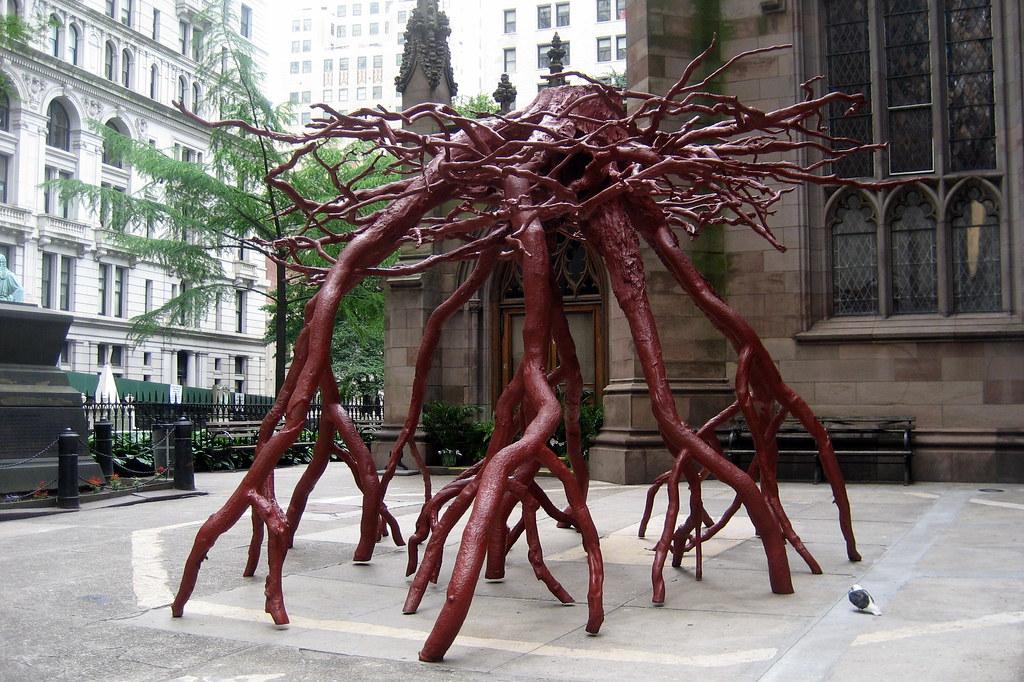Very NYC - Trinity Church - Trinity Root | Steve Tobin's three-to… | Flickr PA19