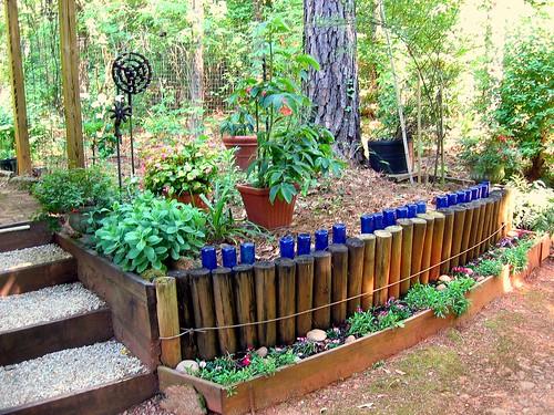 Забор декоративный для клумб своими руками