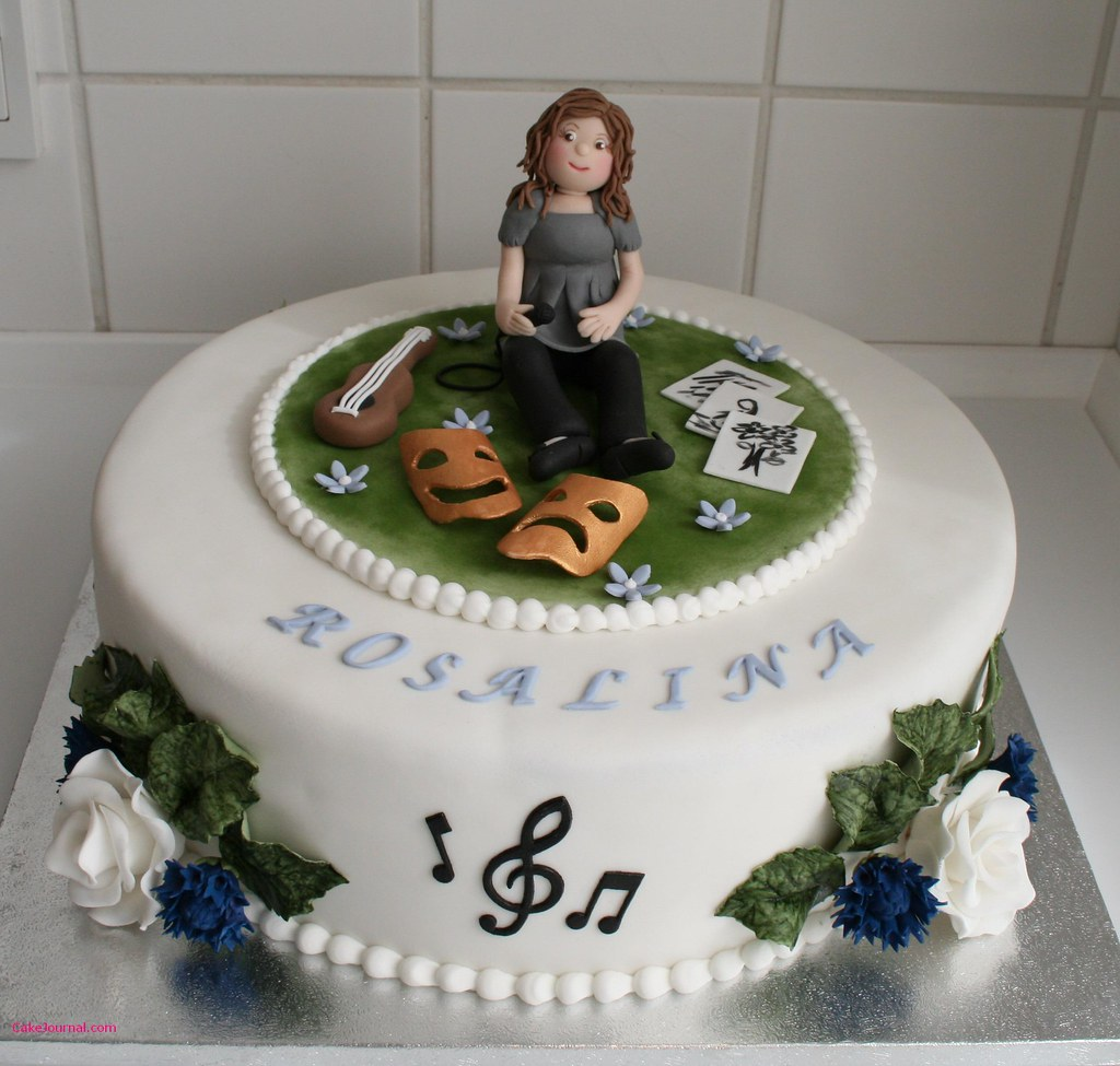 Creative Birthday Cake For A Sweet Creative Birthday Girl Flickr