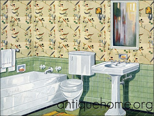 1920s Bathroom. Looks Just Like My