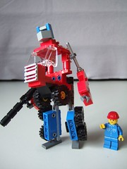 Lego Optimus - robot mode | by astronut1