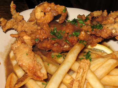 Fried Soft Shell Crab Meuniere | Perfectly fried, in that br ...