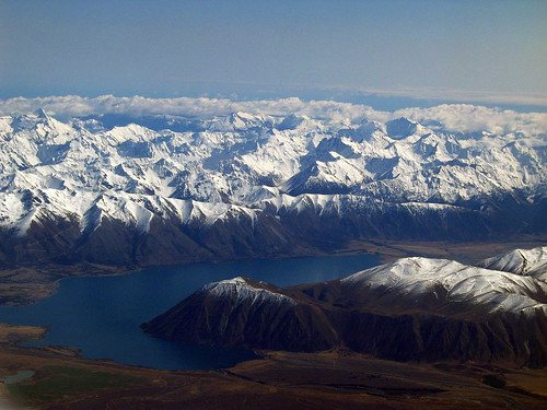 Lake Ohau From The Air | by Peter Sundstrom